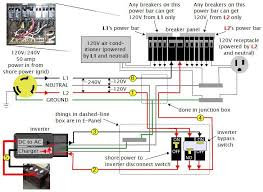 12v solar panel wiring diagram off grid solar power system on an rv recreational vehicle or rv motorhome solar system ac
