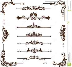 antique frame border png. Vector Vintage Ornaments, Corners, Borders. Delicate, Dividers. Antique Frame Border Png