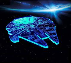 Millennium Falcon Star Wars Lighting Gadget Lamp Decor Awesome Gift Millennium Falcon Star Wars Lighting Gadget Lamp 67 55