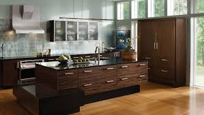 exotic kitchen connoisseur from wood mode custom cabinetry large