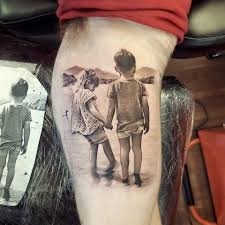 Cute Pic Of Clients 2 Kids I Tattooed Luke Sayer Tattoo Artist