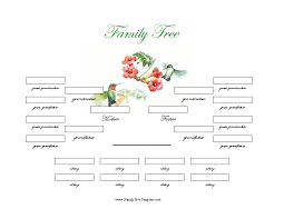 Family Tree Map Template Pdfsimpli