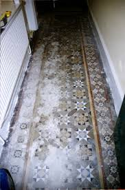 encaustic tiled floors