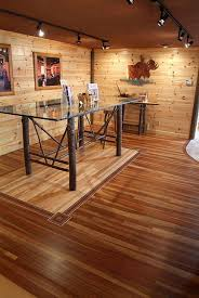 flooring ideas to go with knotty pine walls pictures