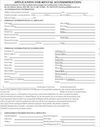 Blank Rental Application 282 Rental Lease Agreement Free Pdf Sample Word Formats