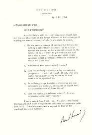 correspondence between jfk and lbj on the space program john f correspondence between jfk and lbj on the space program