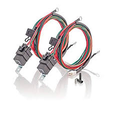 amazon com c and r racing radiators 33 10220 double electric fan amazon com c and r racing radiators 33 10220 double electric fan wiring harness 1 pack automotive