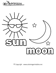 Small Picture Printable Sun Pictures To Color Coloring Coloring Pages