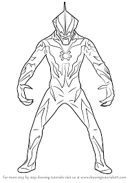 learn how to draw ultraman belial ultraman step by step drawing tutorials