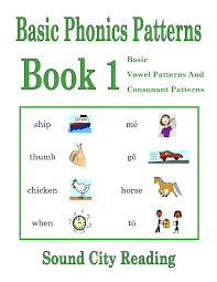 Phonics Patterns Custom Basic Phonics Patterns 44848 SOUND CITY READING