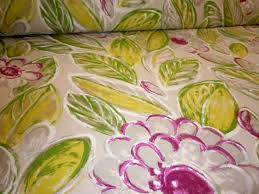 pattern back in the day home decor fabric color tropical