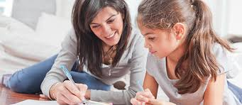tips for helping your elementary school child math homework  mother and daughter doing homework together