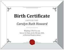 How To Make Fake Certificates Free White House Releases Birth Certificate Make Your Own Fake Template