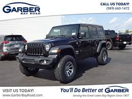 new 2018 jeep wrangler unlimited sport 4 door 4x4 lifted
