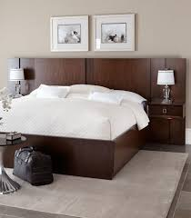 platform bed with nightstand. Platform Bed And Pier Nightstand Combo With Z