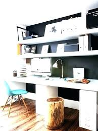 office floating shelves. Ikea Office Shelves Above Desk Simple Floating Over The Desks Desktop A