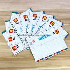 tab index cards china pp a4 jan dec index divider tab divider index cards china