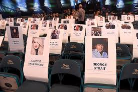 Grammys 2017 Seating Chart Whos Sitting Where At The 2019 Acm Awards