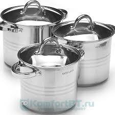 Купить <b>Набор</b> посуды для приготовления <b>Mayer & Boch 27550</b> 6 ...