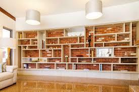 Stunning In Built Wall Unit In Laminex Impressions Seasoned