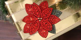 Poinsettia Designs Machine Embroidery Designs At Embroidery Library