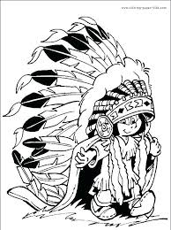 Coloring Pages Girl Indian Coloring Pages Sheet Printable Sheets