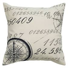 rizzy home off white tree pattern decorative throw pillow  hayneedle