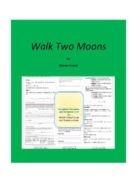walk two moons teaching resources teachers pay teachers  walk two moons complete literature and grammar unit