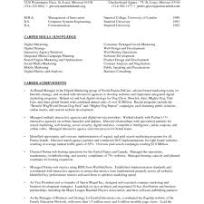 Effective Resume Example 10 Infoe Link