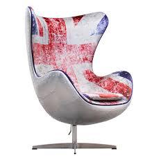 union jack spitfire aj egg chair