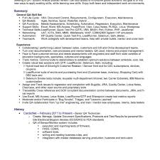 Testing Resume Sample Software Tester With In Qa Manual Format For