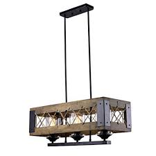 kitchen island lighting pictures. LALUZ Wood Kitchen Island Lighting 3-light Pendant Chandeliers Kitchen Island Lighting Pictures