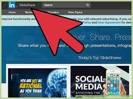 Slede Share How To Upload A Slideshow To Slideshare With Pictures
