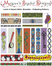 Bead Loom Patterns Enchanting Pattern Collection 48 Bead Loom Bracelets Sova Enterprises