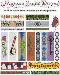 Bead Loom Bracelet Patterns Gorgeous Pattern Collection 48 Bead Loom Bracelets Sova Enterprises