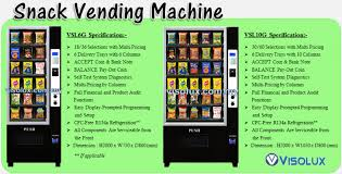 How To Get Free Food Out Of A Vending Machine Unique VISOLUX M SDN BHD 48W VENDING SOLUTION