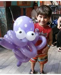 balloons twisting
