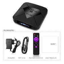H.265 USB3.0 Smart Media Box,Bluetooth Wifi 2.4G/5G Android Streaming Box  HDMI 2.1 XGODY Smart TV Box X10 MAX,4G+128G Android 9.0 TV Box mit S905X3  Quad-Core Cortex-A55,8K HD Media Streaming Devices ecog Streaming