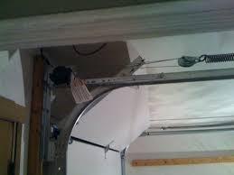 low clearance garage door opener head required for fix