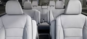 which honda models have a 3rd row