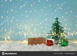 Paper Christmas Tree Lights Image Paper Christmas Trees White Snow Golden Garland Lights