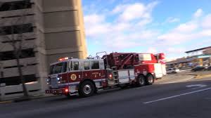 paterson nj fire department engine 6 engine 1 ladder 2 and rescue 2 responding downtown area you