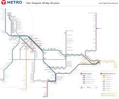 Twin Cities Light Rail Map Metro Network Metro Transit