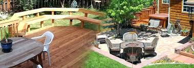 small decks and patios pictures deck or patio artfully combining decks patios is best deck height