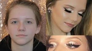 doing my 13 yr old sisters makeup
