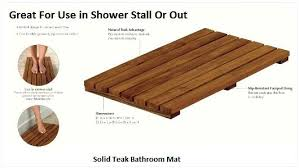 wooden shower mat argos diy ireland