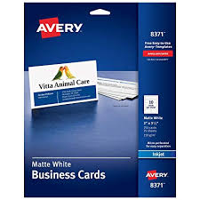 Amazoncom Avery Printable Business Cards Inkjet Printers 250