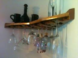 wine glass rack shelf dimension wall mounted wine rack bottle and glass holder shelf