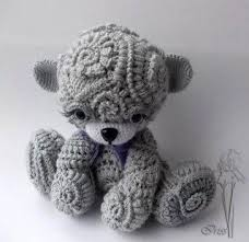 Crochet Bear Pattern Beauteous I Love How This Teddy Bear Looks But I Can't Find The Pattern