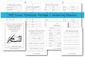 Free Handwriting Resources and Workbook - Half a Hundred Acre Wood